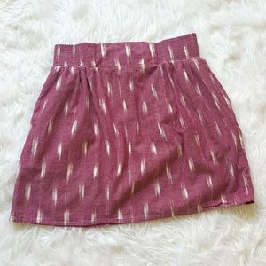 Kavu Cedar Skirt Pink/Purple Size M